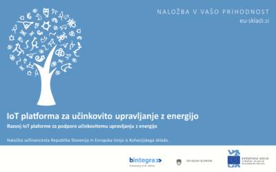 IoT platform for efficient energy management