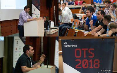 Bintegra at the 23th OTS conference