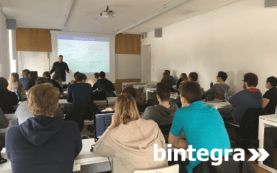 Guest lecture at FERI – UM