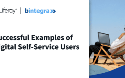 Successful examples of Digital Self-Service users