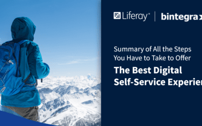 Summary of all the steps you have to take to offer the best Digital Self-Service experience